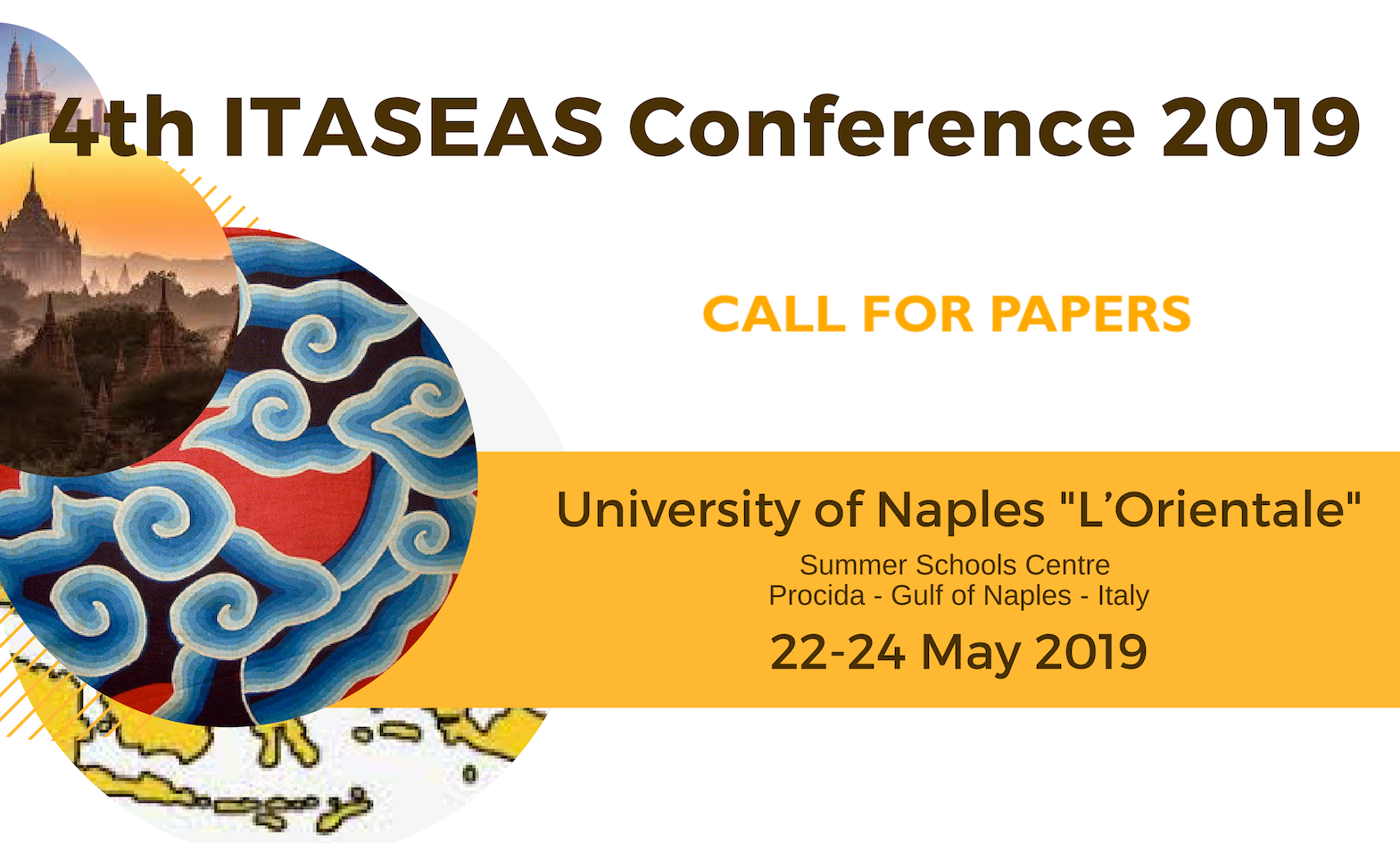 CALL FOR PAPERS 4TH ITASEAS CONFERENCE