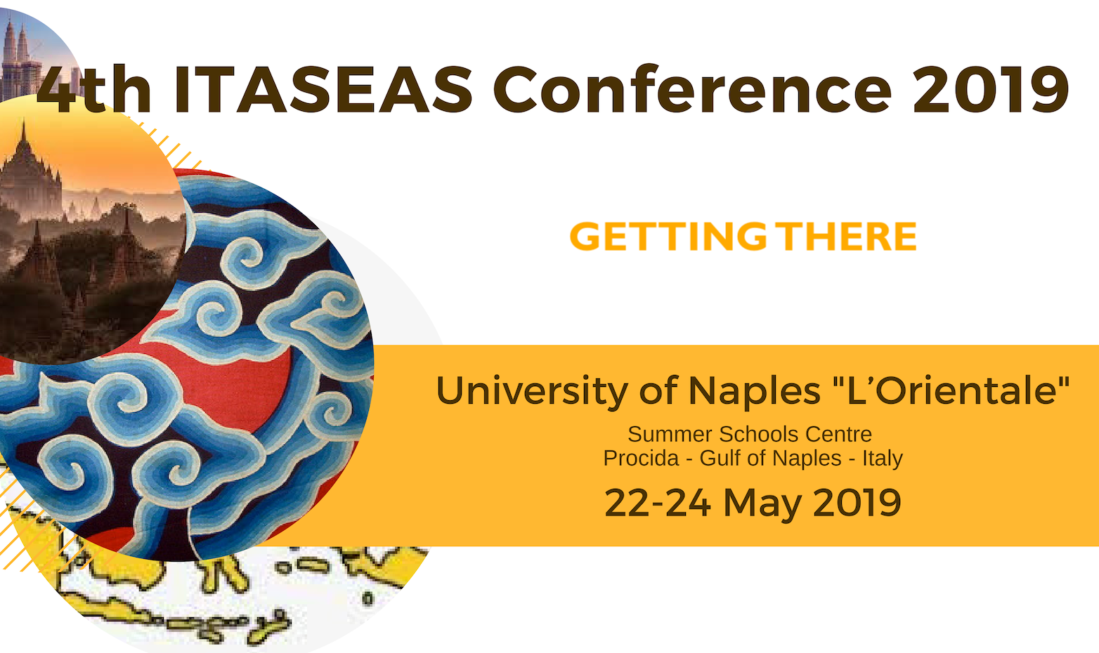 GETTING THERE 4th ITASEAS CONFERENCE