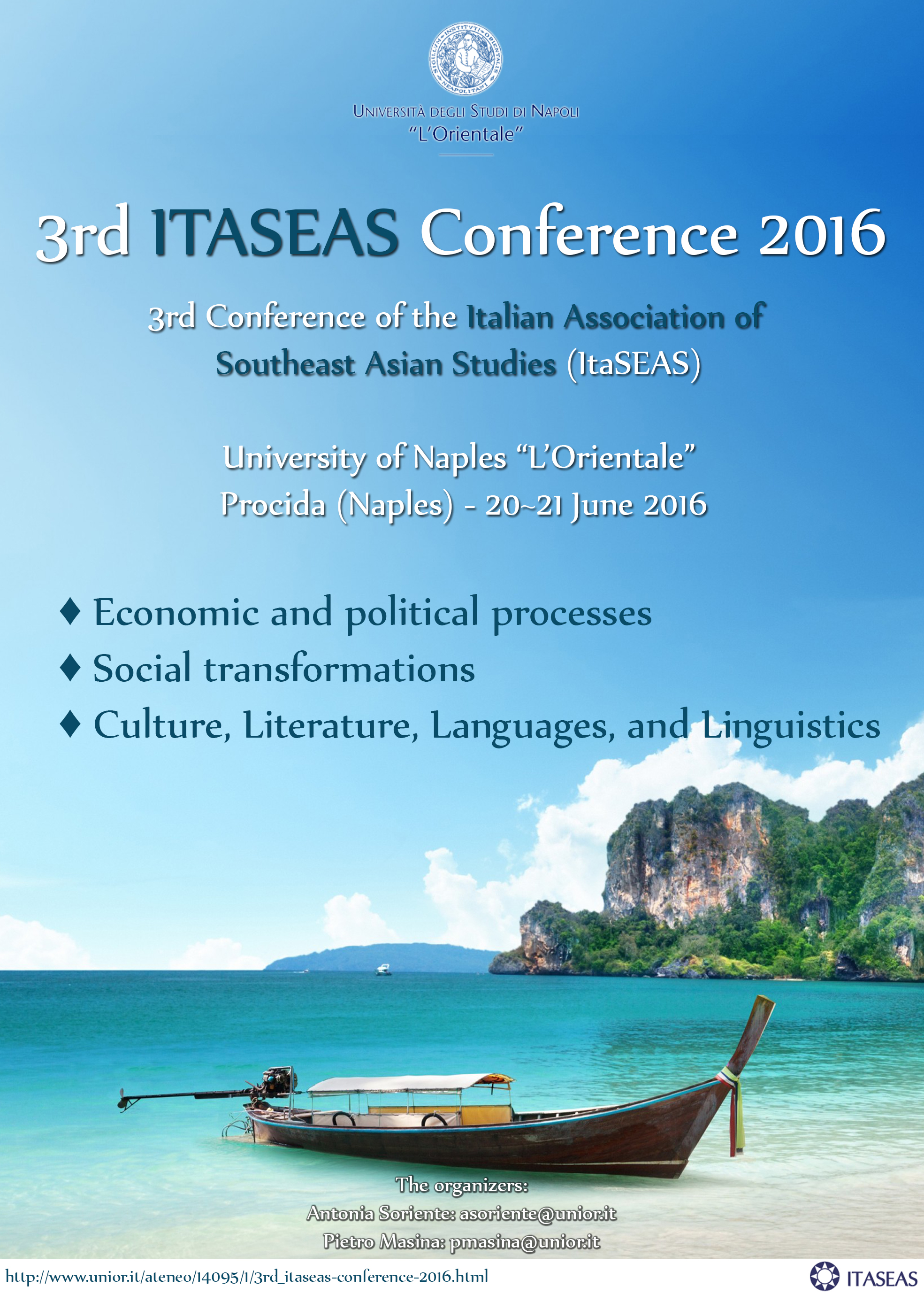 3rd_ITASEAS Conference 2016