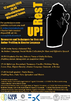 12 maggio Workshop Rest-UP!