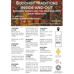 Buddhist Traditions Inside And Out: Buddhist Works And The Relation With Their Tradition